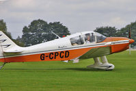 G-CPCD @ EGBK - 1968 Centre Est Aeronautique CEA DR221, c/n: 81 at 2010 LAA National Rally