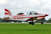 G-AZHI @ EGBK - 1971 Aero Engine Services Ltd GLOS-AIRTOURER SUPER 150, c/n: A540 at 2010 LAA National Rally