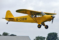 G-CUBW @ EGBK - 2005 Plumb Bg, Plumb Nd And Bourne Ag WAG-AERO ACRO TRAINER, c/n: PFA 108-13581 at LAA National Rally