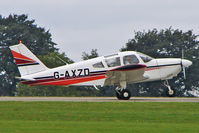 G-AXZD @ EGBK - 1970 Piper PIPER PA-28-180, c/n: 28-5609 at 2010 LAA National Rally