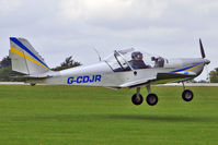 G-CDJR @ EGBK - 2005 Cosmik Aviation Ltd EV-97 TEAMEUROSTAR UK, c/n: 2318 at 2010 LAA National Rally