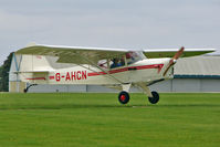 G-AHCN @ EGBK - 1946 Auster Aircraft Ltd AUSTER J1N, c/n: 1980 at 2010 LAA National Rally