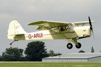 G-ARUI @ EGBK - 1962 Beagle-auster Aircraft Ltd BEAGLE AUSTER A.61, c/n: 2529 at 2010 LAA National Rally
