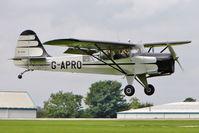 G-APRO @ EGBK - 1946 Auster Aircraft Ltd AUSTER 6A, c/n: WJ370 at 2010 LAA National Rally