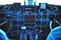 N47CE - Looking in the cockpit while in flight