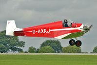 G-AXKJ @ EGBK - 1970 Southdown Aero Services Ltd JODEL D9, c/n: PFA 941 at 2010 LAA National Rally