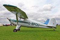 G-BPOU @ EGBK - 1946 Luscombe Airplane Corporation LUSCOMBE 8A, c/n: 4159 at 2010 LAA National Rally