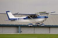 G-ARMN @ EGBK - 1961 Cessna CESSNA 175B (MODIFIED), c/n: 175-56994 at 2010 LAA National Rally