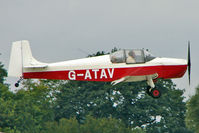 G-ATAV @ EGBK - 1965 Rollason Aircraft And Engines Ltd DRUINE D.62C CONDOR, c/n: RAE/611 at 2010 LAA National Rally - by Terry Fletcher