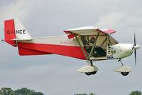 G-INCE @ EGBK - 2003 Sleigh Np SKYRANGER 912(2), c/n: BMAA/HB/270 at 2010 LAA National Rally