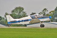 G-FARR @ EGBK - 1966 Societe Aeronautique Normande JODEL D150, c/n:58 at 2010 LAA National Rally