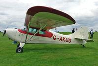 G-AKUO @ EGBK - 1946 Aeronca Aircraft Corporation AERONCA 11AC, c/n: 11AC-1376 at 2010 National Rally