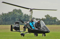 G-KBOJ @ EGBK - Gyroplane at 2010 LAA National Rally