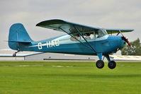 G-IIAC @ EGBK - 1946 Aeronca Aircraft Corporation AERONCA 11AC, c/n: 11AC-169 at 2010 LAA National Rally