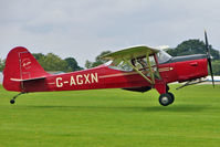 G-AGXN @ EGBK - 1946 Auster Aircraft Ltd AUSTER J1N, c/n: 1963 at 2010 LAA National Rally