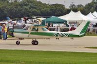 G-BPGZ @ EGBK - 1966 Cessna CESSNA 150G, c/n: 150-64912 at 2010 LAA National Rally