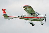 G-CEZZ @ EGBK - 2007 P And M Aviation Ltd FLIGHT DESIGN CTSW, c/n: 8326 at 2010 LAA National Rally