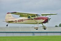 G-AORB @ EGBK - 1955 Cessna CESSNA 170B, c/n: 20767 at 2010 LAA National Rally