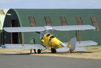 G-ANPE @ EGSU - DeHavilland (Morris) D.H.82A Tiger Moth at Duxford airfield