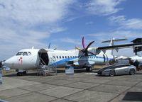 F-WWEY @ EGLF - ATR 72-600 at 2010 Farnborough International