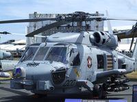 166563 @ EGLF - Sikorsky MH-60R Seahawk of the US Navy at 2010 Farnborough International - by Ingo Warnecke