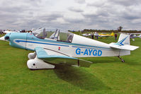 G-AYGD @ EGBK - 1963 Centre Est Aeronautique JODEL DR1051 (MODIFIED), c/n: 515 at 2010 LAA National Rally