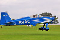 G-RVAC @ EGBK - 2005 Caldecourt Afs VANS RV-7, c/n: PFA 323-14445 at 2010 LAA National Rally