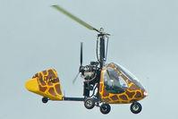 G-IRAF @ EGBK - 1996 Julian Cd RAF 2000 GTX-SE, c/n: PFA G/13-1278 at 2010 LAA National Rally