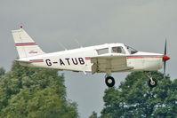 G-ATUB @ EGBK - 1966 Piper PIPER PA-28-140, c/n: 28-21971 at 2010 LAA National Rally