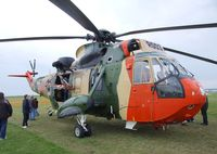 RS03 @ EDBM - Westland Sea King Mk48 of the Belgian air force at the 2010 Air Magdeburg - by Ingo Warnecke