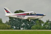 N8829P @ EGBK - 1965 Piper PA-24-260, c/n: 24-4285 at 2010 LAA National Rally