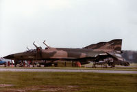 68-0568 @ EGUY - RF-4C Phantom of 10th Tactical Reconnaissance Wing at RAF Alconbury on detachment to RAF Wyton in the Summer of 1984. - by Peter Nicholson