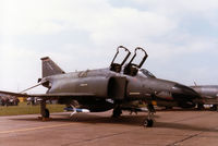 69-0248 @ MHZ - F-4G Phantom of Spangdahlem's 52nd Tactical Fighter Wing on display at the 1984 RAF Mildenhall Air Fete. - by Peter Nicholson