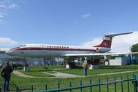 DDR-SCB @ EDBM - Tupolev Tu-134 preserved at Magdeburg airfield - by Ingo Warnecke