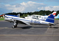 G-BXGL @ EGTB - Chipmunk 22 ex RAF serial WZ884 at Wycombe Air Park - by moxy