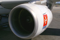 9H-AEL @ MLA - Air Malta Airbus A319 - by Thomas Ramgraber-VAP