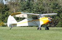 N4567H @ IA27 - Piper PA-15