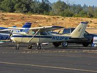 N122PW @ KAUN - 1966 Cessna 172H at Auburn, CA - by Steve Nation