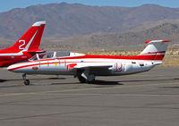 N129SH @ KRTS - Race #12 1966 Aerovodochody L-29 DELFIN for Jet Class @ 2009 Reno Air Races - by Steve Nation
