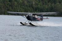 CF-RJK @ TM2 - Champ departing Lake Temagami (TM2) - by Doulas