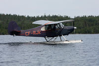 CF-RJK - Champ getting ready to depart Lake Temagami (TM2) - by Forsyth