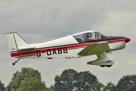 G-OABB @ EGBK - 1962 Societe Aeronautique Normande JODEL D150, c/n: 01 at 2010 LAA National Rally