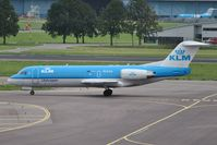 PH-KZA @ EHAM - KLM cityhopper taxiing for take-off - by Robert Kearney