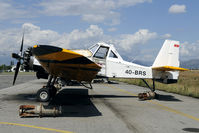 4O-BRS @ LYPG - The Dromadar is used by the Montenegro government to extinguise bush fires. - by Joop de Groot