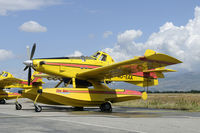 4O-EAA @ LYPG - The AT-802 Fire Boss is used by the Montenegro government to extinguise bush fires. - by Joop de Groot