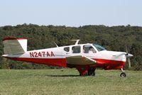 N247AA @ IA27 - Beech K35 - by Mark Pasqualino