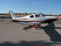 N1159Q @ KAUN - 2008 Cessna LC41-550FG @ Auburn, CA - by Steve Nation