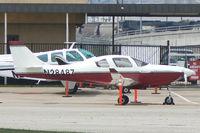 N28487 @ FTW - At Meacham Field, Fort Worth, TX