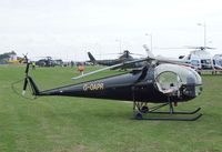 G-OAPR - Brantly B-2B at the 2010 Helidays on the Weston-super-Mare