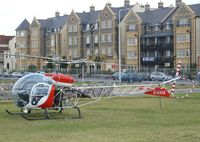 G-BAXS - Bell 47G-5 at the 2010 Helidays on the Weston-super-Mare